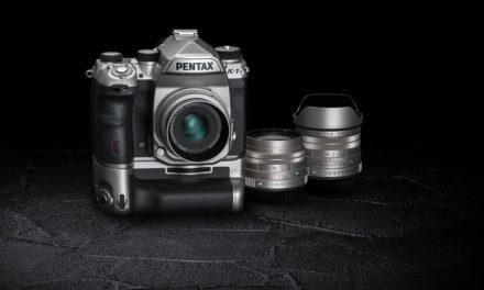 Pentax K-1 Silver, edición limitada con acabados plateados