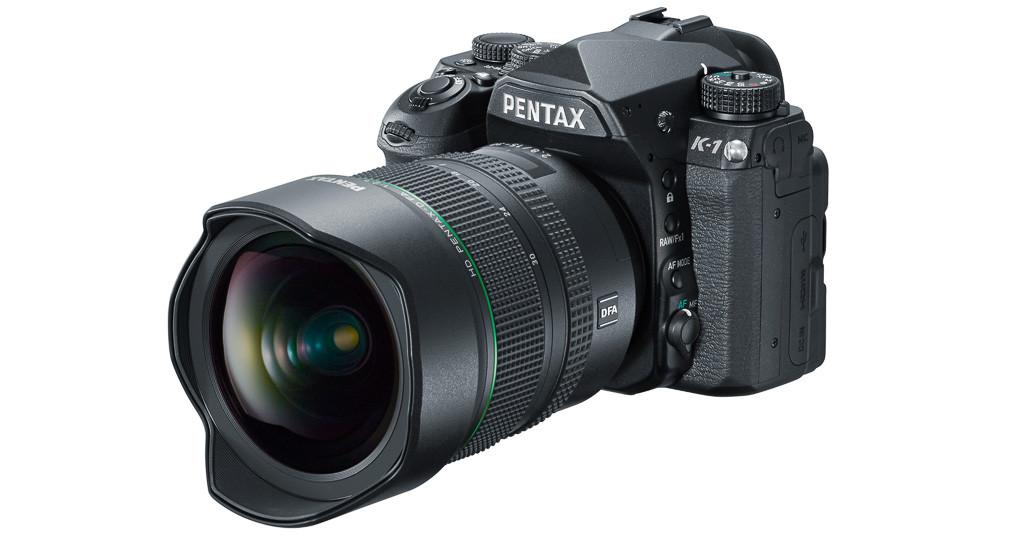 Pentax K-1 con 15-30mm