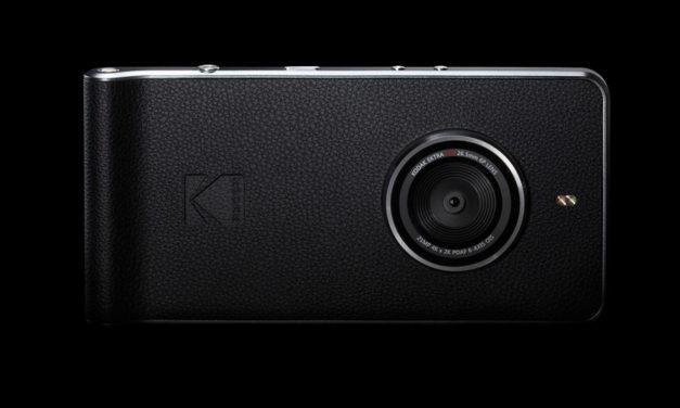 Kodak Ektra, el smartphone fotográfico de Kodak, ya disponible