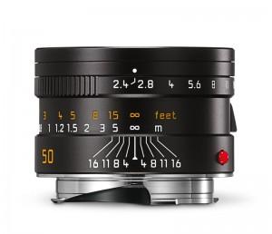 Leica Summarit-M_50_black_front