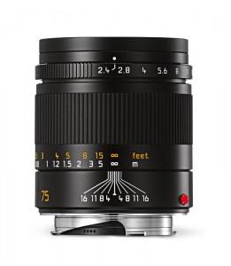 Leica Summarit-M_75_black_front