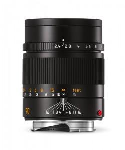 Leica Summarit-M_90_black_front