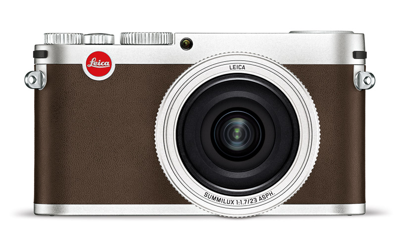 Leica X_silver_front