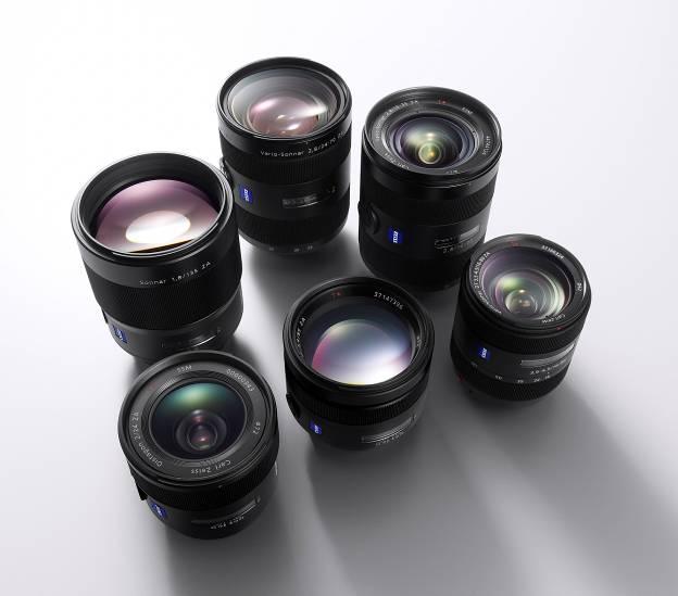Sony amplía su gama de objetivos A-Mount para cámaras DSLR α con tres nuevos objetivos