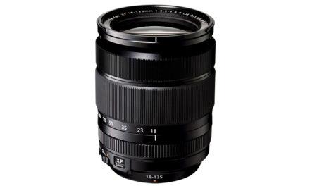 Nuevo objetivo Fujifilm XF 18-135mm f/3,5-5,6 R LM OIS WR