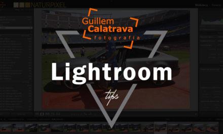 Ajustar perfil de calibración en Lightroom al importar fotografías
