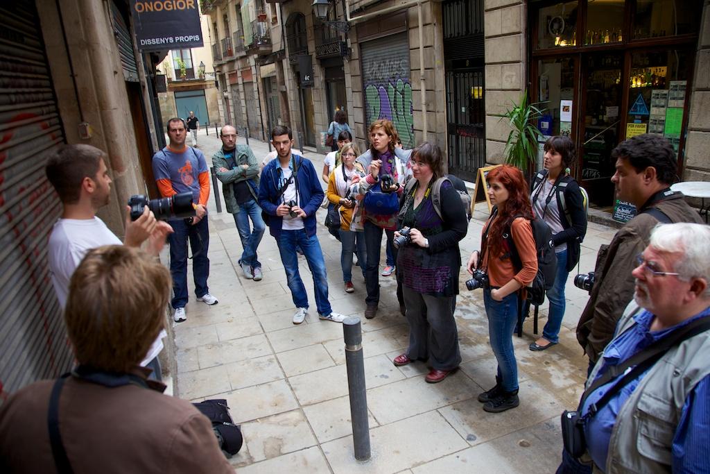 Curso de Fotografía Fotowalk Barcelona 1, 20 de octubre de 2012