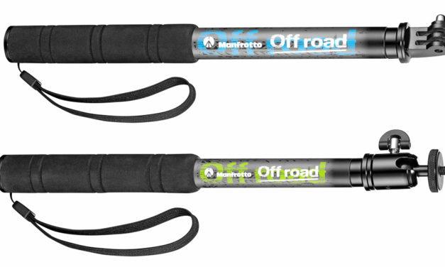 Manfrotto Poles Off Road, palos de selfies muy ligeros