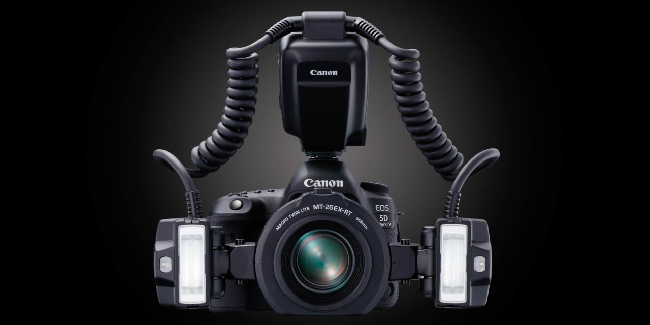 Nuevo flash macro Canon MT-26EX-RT