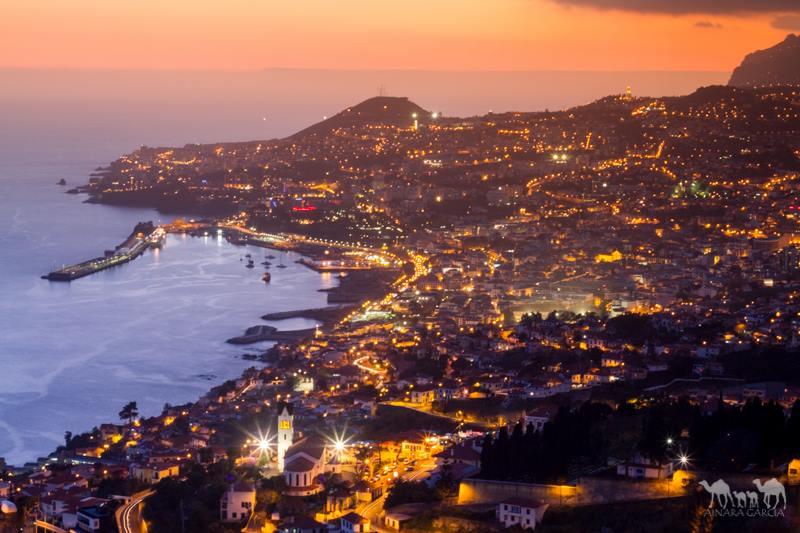 Atardecer Funchal