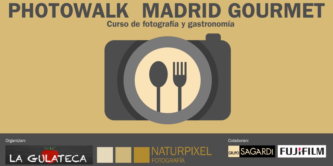 Nuevo curso foto-gastronómico: Photowalk Madrid Gourmet