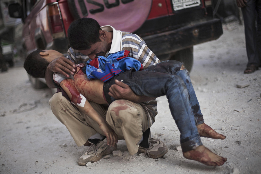 © Manu Brabo, Associated Press - 3 de octubre de 2012