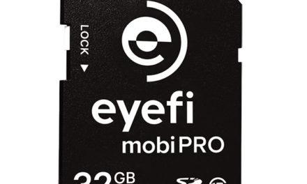 Eyefi Mobi Pro, una SD inalámbrica de 32Gb