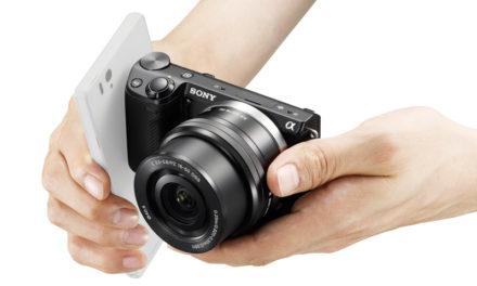 Nueva Sony NEX-5T, con NFC