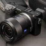 Actualización de firmware para la Sony NEX-7