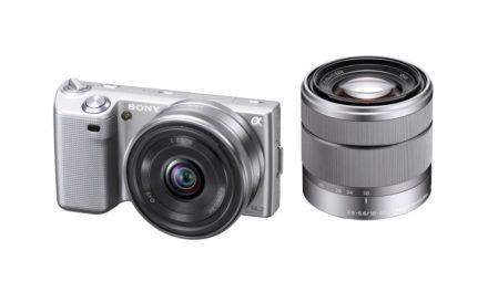 NEX-5 y NEX-3, las compactas de SONY con óptica intercambiable