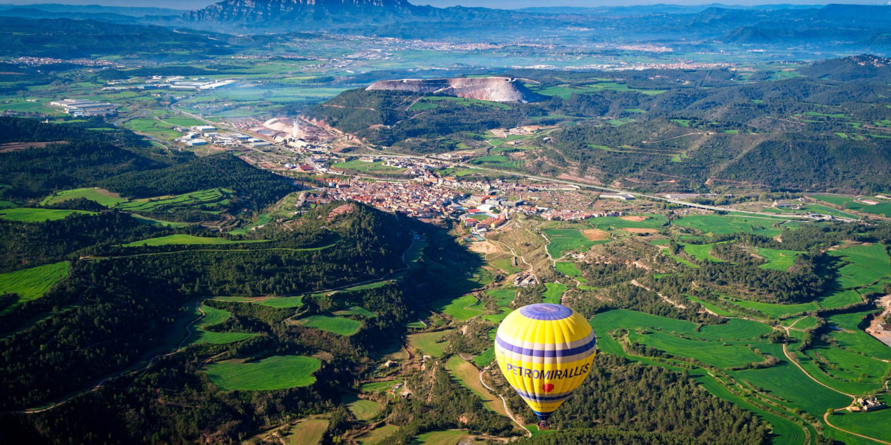 Nuevo curso de fotografía desde globo aerostático