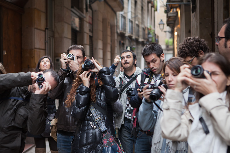 Curso de fotografía Barcelona Fotowalk, 19 de noviembre de 2011