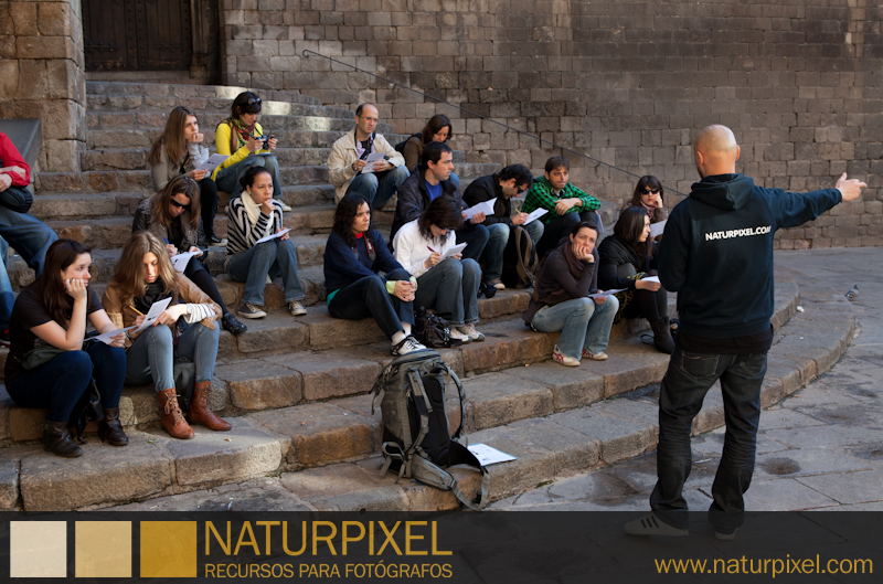 Curso de fotografía Barcelona Fotowalk, 2 de abril de 2011