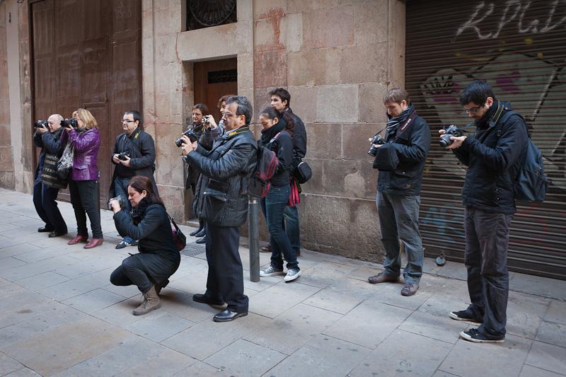 Curso de fotografía Barcelona Fotowalk, 17 de diciembre de 2011