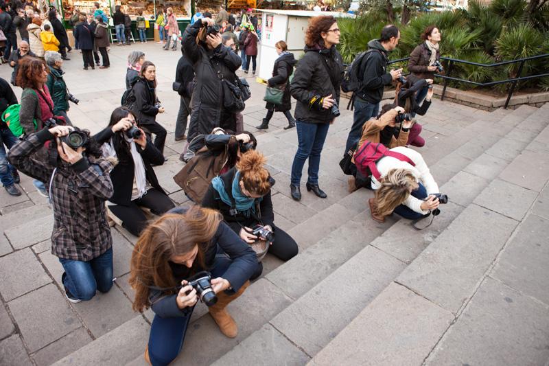 Curso de Fotografía Fotowalk Barcelona 1, 15 de diciembre de 2012