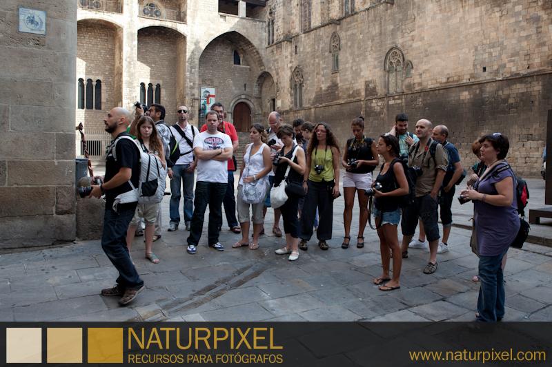Curso de fotografía Barcelona Fotowalk, 16 de julio de 2011