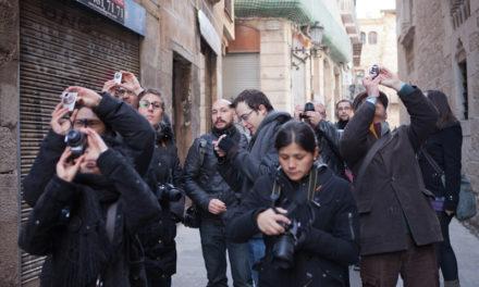 Curso de fotografía Barcelona Fotowalk Born, 11 de febrero de 2012