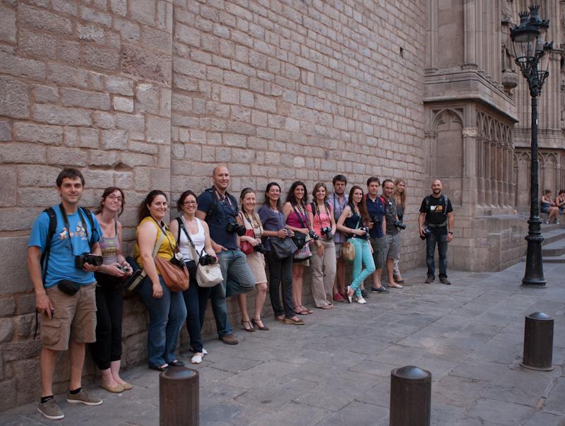Curso de Fotografía Barcelona Fotowalk Born, 26 de junio de 2012