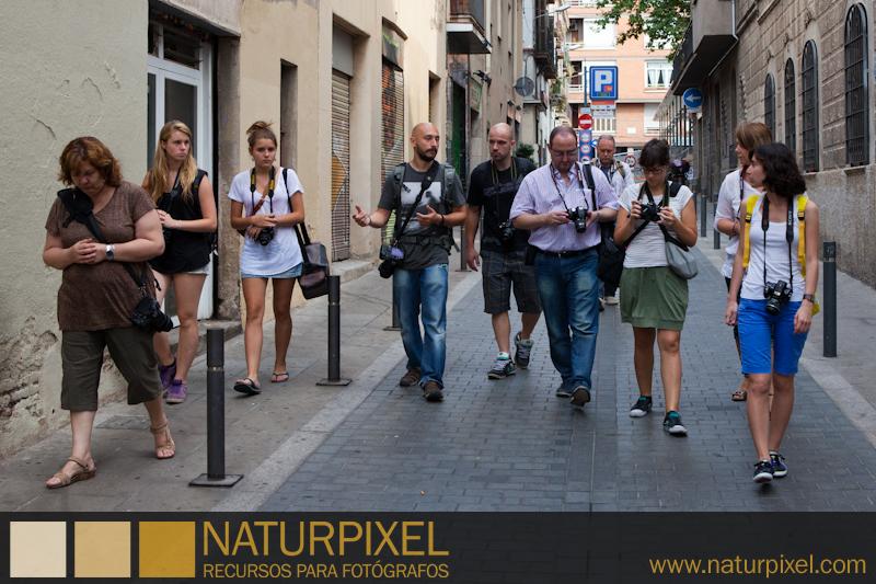 Curso de Fotografía Barcelona Fotowalk Gracia, 2 de julio 2011