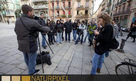 Curso de Fotografía Barcelona Fotowalk Gracia, 19 de febrero 2011
