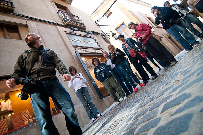 Curso de fotografía Fotowalk Vic, 8 de octubre de 2011