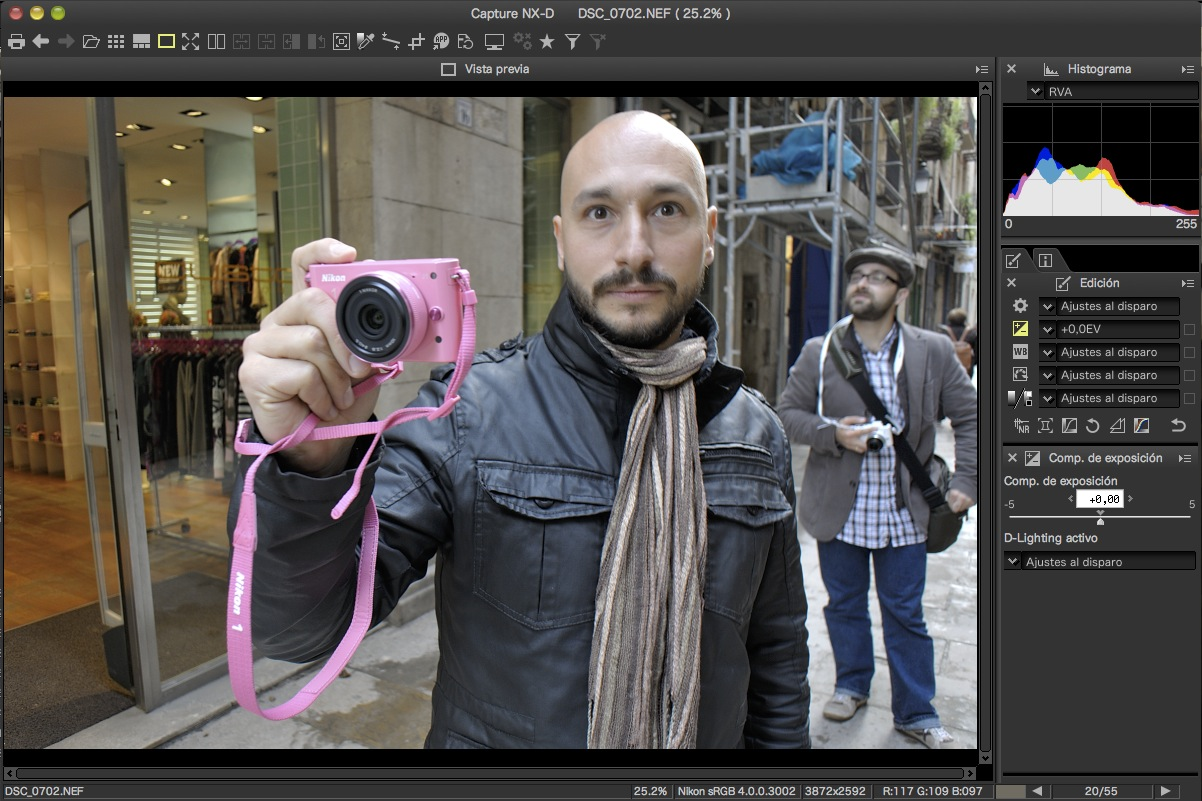 Nikon Capture NX-D, disponible para su descarga gratuita