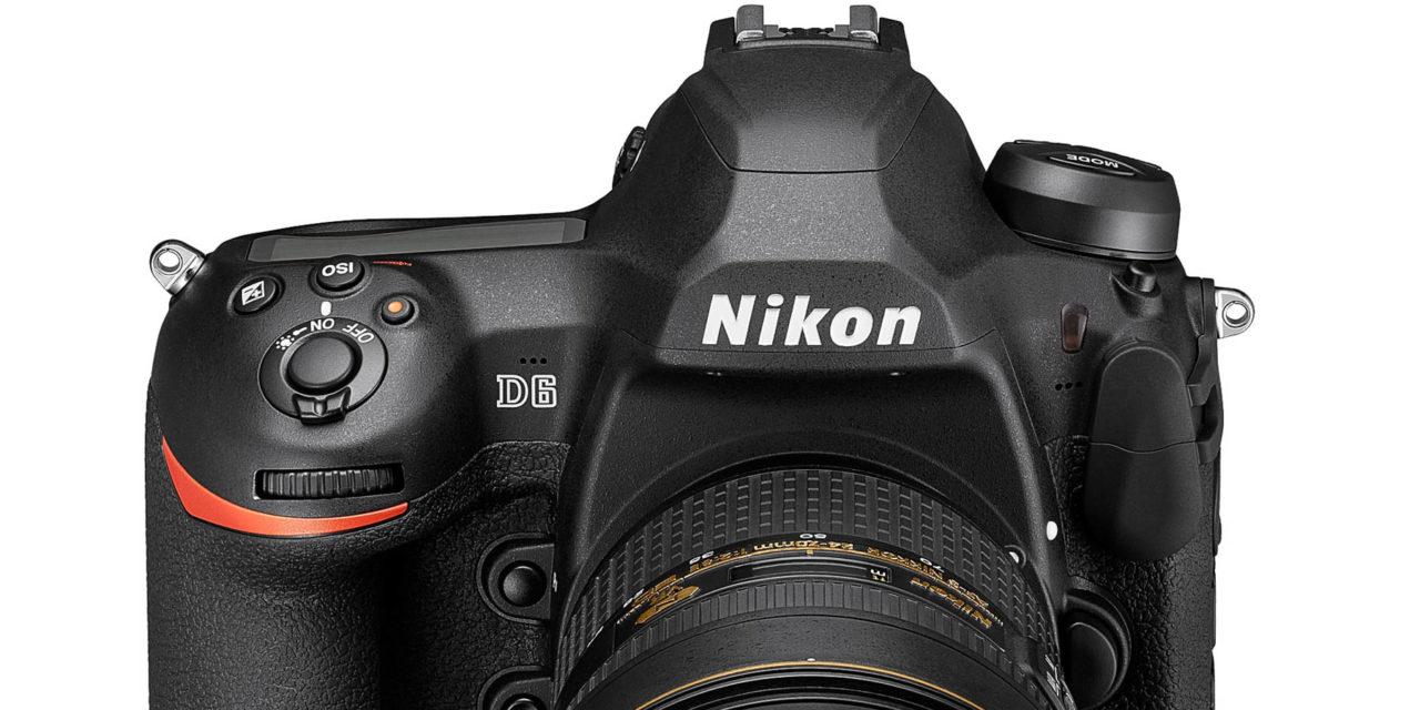 Nikon D6, el nuevo buque insignia de Nikon ya es oficial