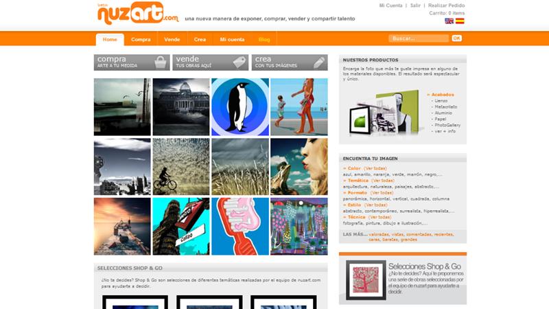 Vender tu obra fotográfica online con Nuzart