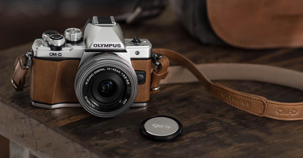Olympus OM-D E-M10 Mark II Edición Limitada en color marrón