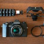 Olympus lanza dos nuevos kits de la E-M5 Mark III, uno junto al 12‐45mm ƒ/4 PRO y otro para vloggers