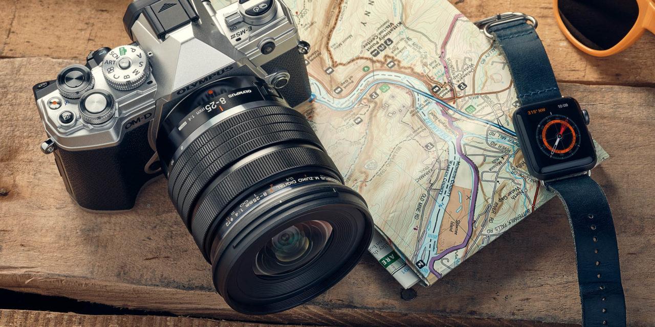 M.ZUIKO 8-25mm ƒ/4,0 PRO, nuevo zoom gran angular