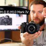 Olympus OM-D E-M10 Mark IV, toma de contacto