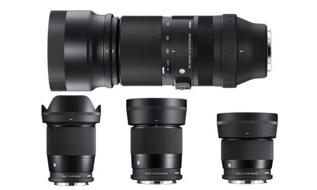 Sigma 100-400mm ƒ/5-6,3 DG DN OS Contemporary y otras novedades