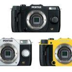 Pentax Q7, con sensor extra grande y en 120 colores