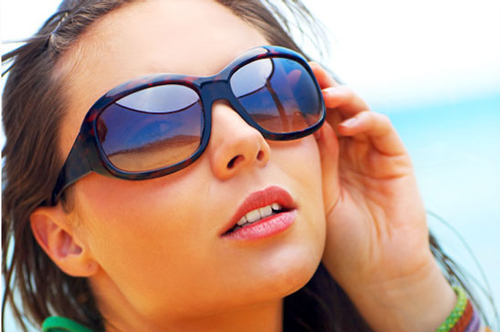Photoshop Sunglass Reflections Effect