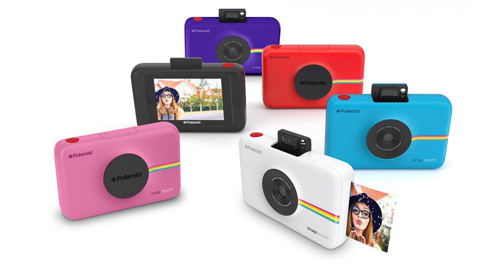 Polaroid Snap Touch, nueva cámara digital instantánea con pantalla táctil