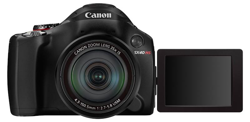 Nuevas cámaras de Canon. PowerShot SX40 HS y PowerShot S100
