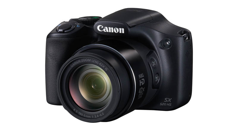 Nuevas Canon PowerShot SX520 HS y PowerShot SX400 IS