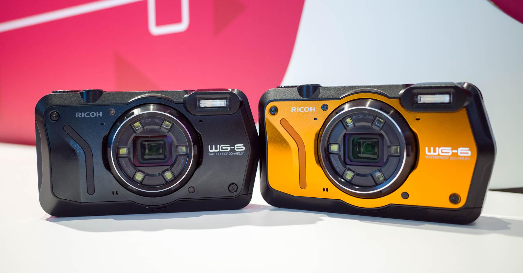 """Ricoh presenta nuevas cámaras """"todo terreno"""": WG-6, G900 y G900SE"""