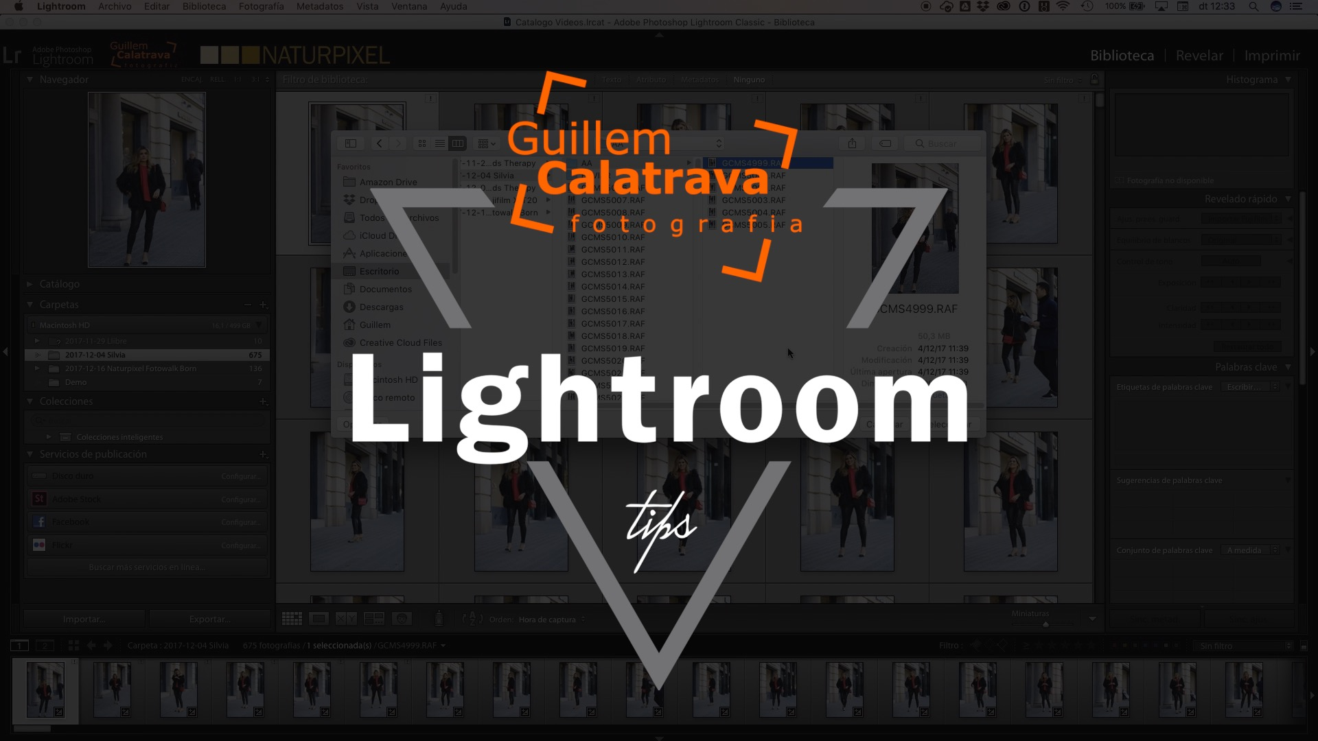 Cómo recuperar imágenes o carpetas perdidas en Lightroom