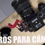 RØDE Wireless Go y Vídeomic NTG, micros para cámara