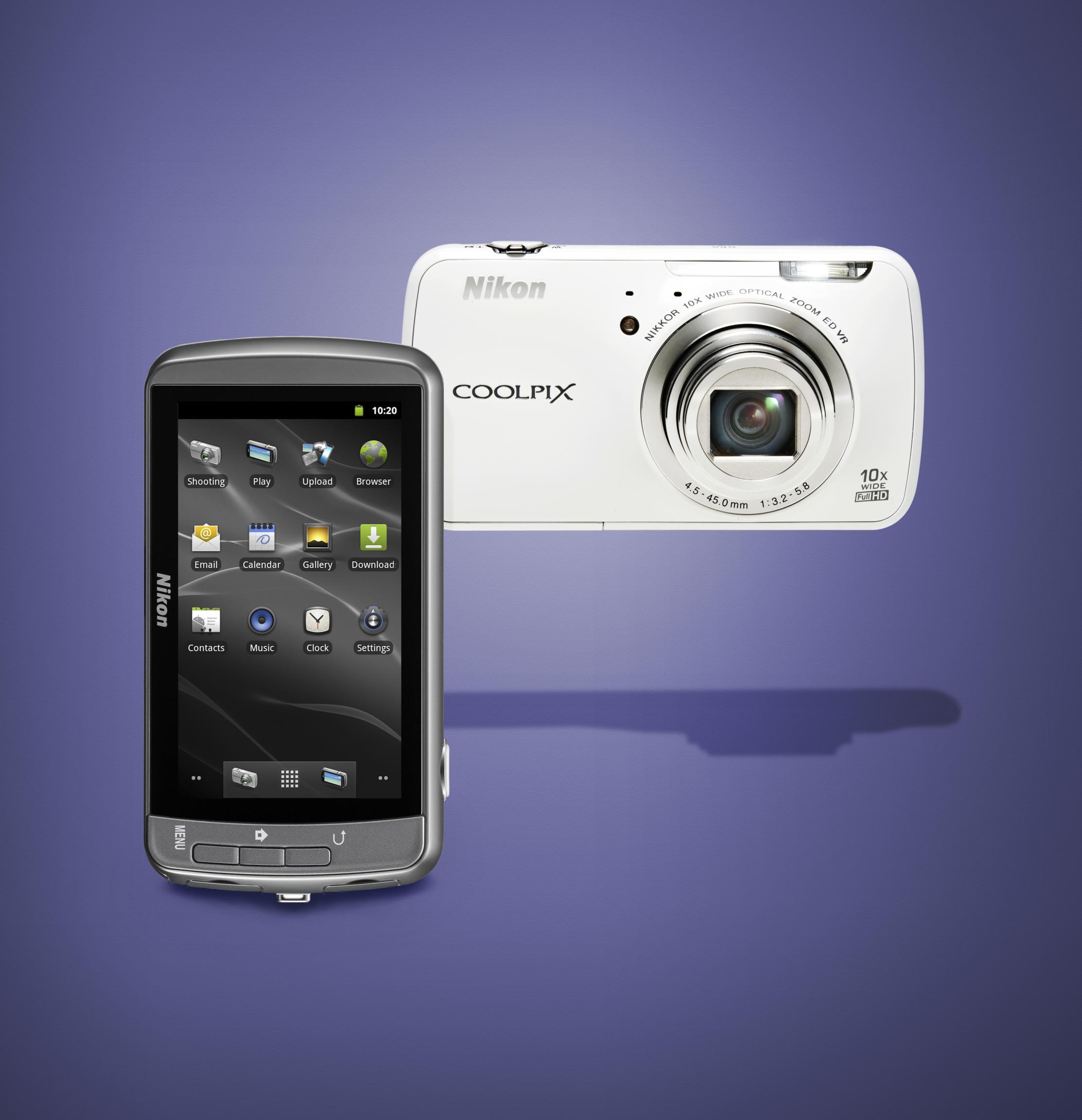 Coolpix S800c, la nueva cámara de Nikon con Android, y 3 nuevas cámaras