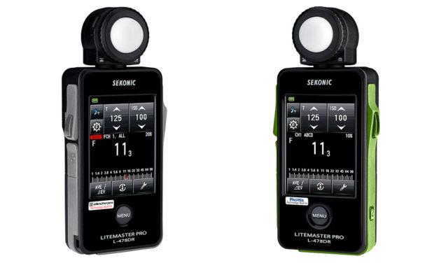 Nuevos fotómetros Sekonic L-478 EL y L-478 PX