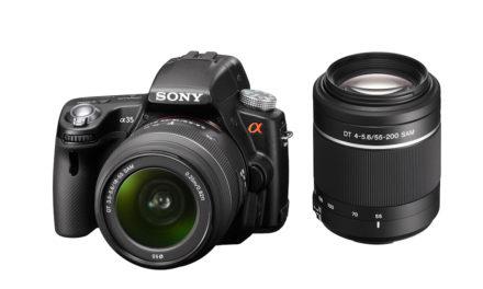 Sony presenta la α35 con espejo translúcido